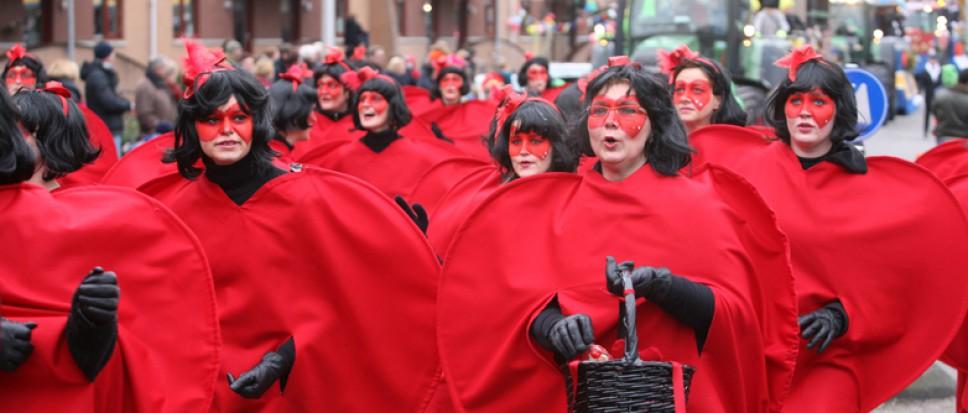 Meedoen aan de Carnavalsoptocht Borne?