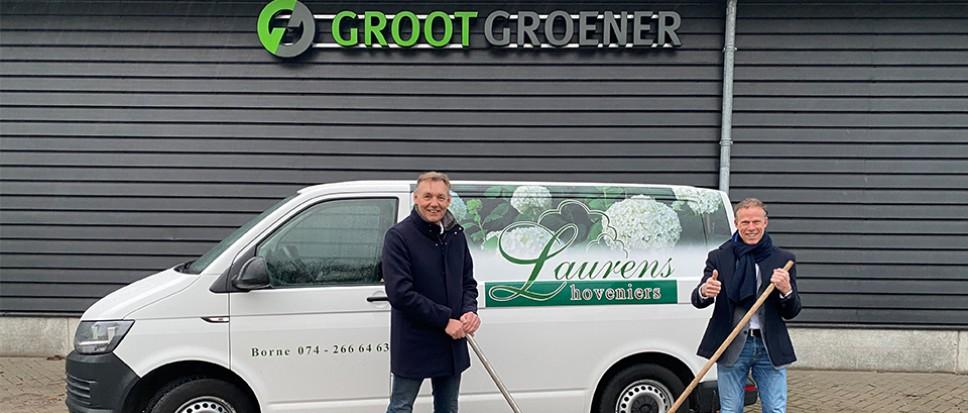 Laurens Hoveniers overgenomen door Grootgroener