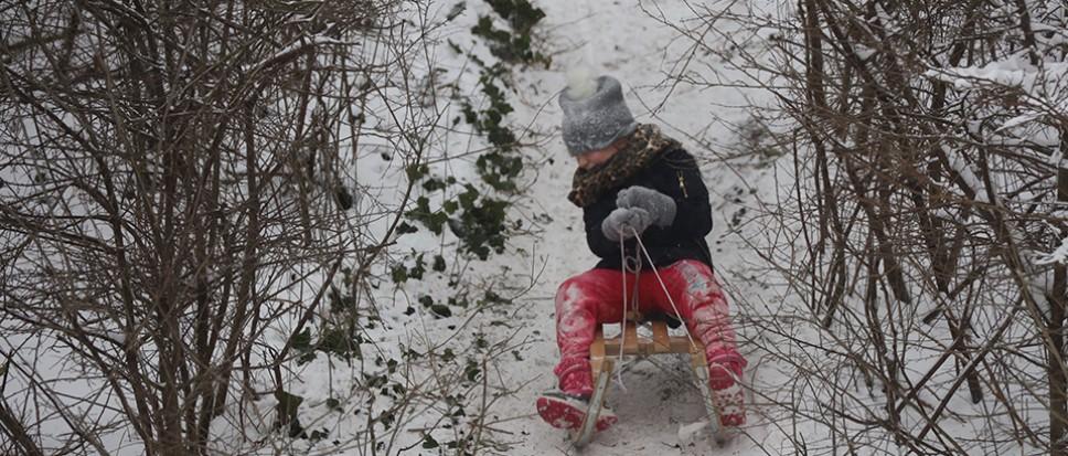 Sneeuwpret en de onvermijdelijk mooie plaatjes