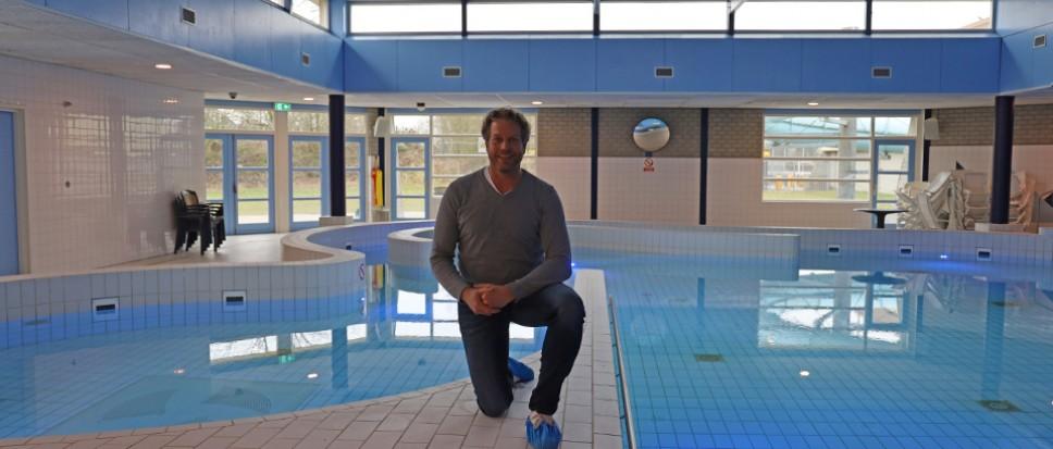 Zwembad is klaar voor de zwemlessen
