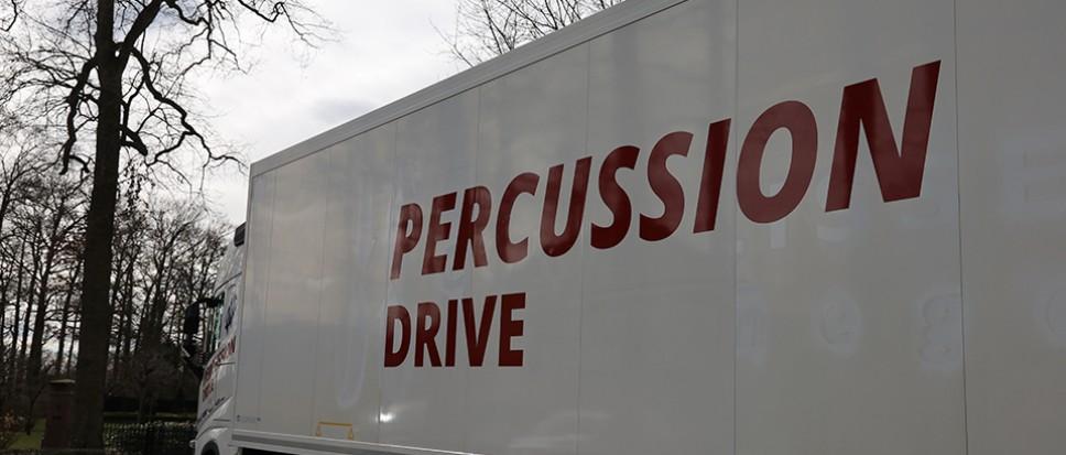 Percussion Live voor één keer Drive