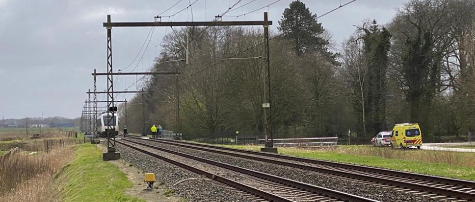 Spoorwegongeval bij Het Hag