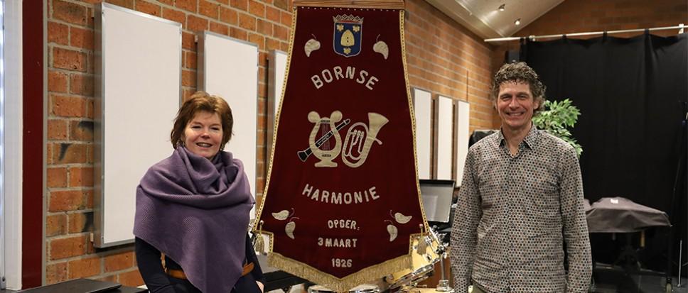 Bornse Harmonie ook na 95 jaar nog springlevend