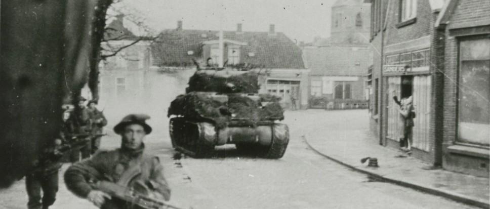 3 april 1945: Borne bevrijd!