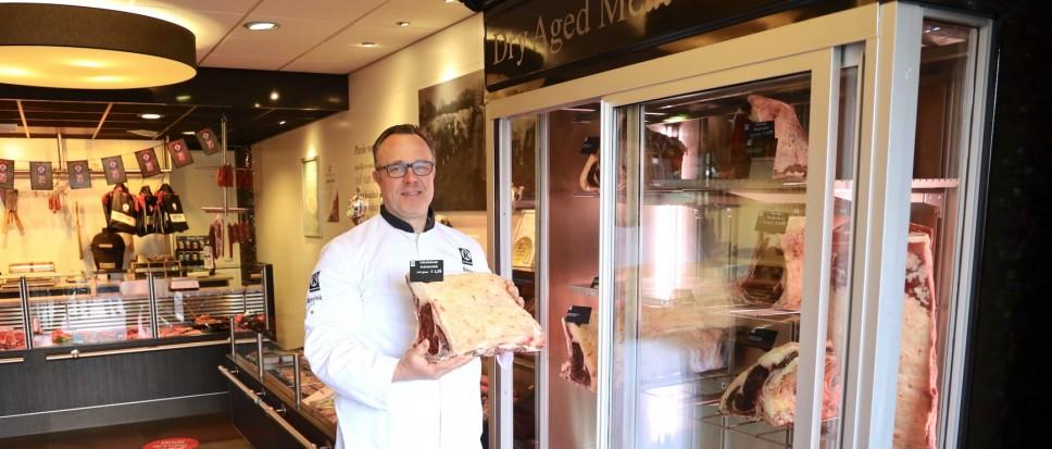 Nieuwe dry aged kast markeert slagerspassie
