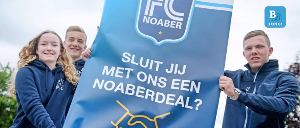 FCNoaber Borne zoekt honderd jongeren