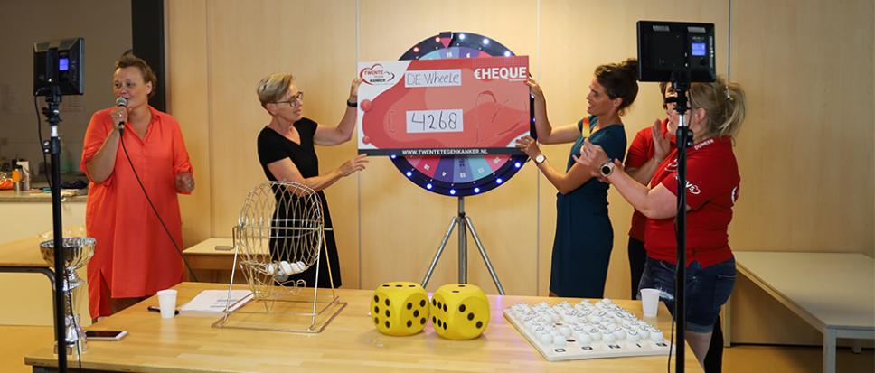 De Wheele sprokkelt 4.268 euro bij elkaar