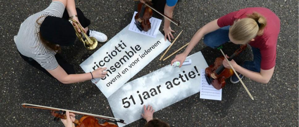 Ricciotti viert gouden jubileum in Hertme