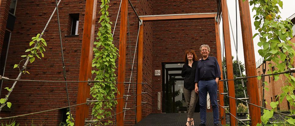 Architect Henk te Kiefte geniet van zijn vak