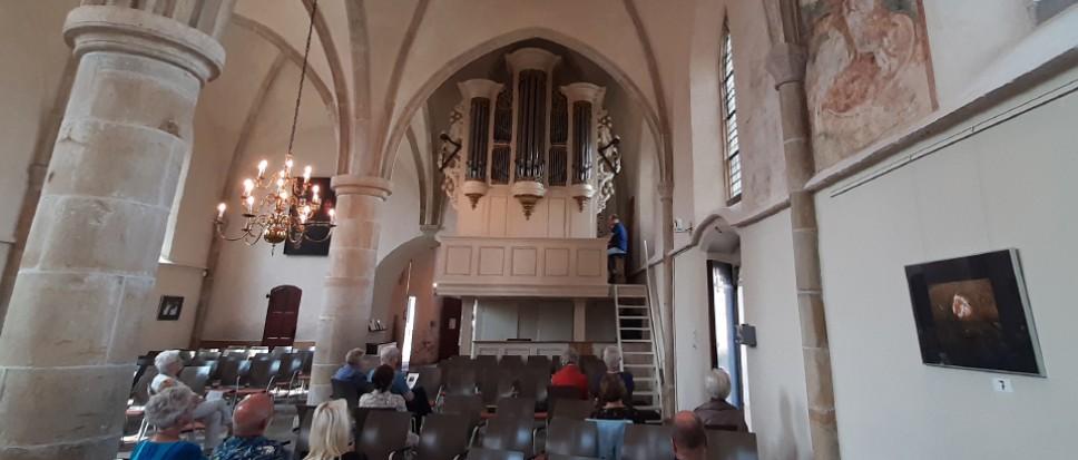 Eerste lunchconcert in de Oude Kerk