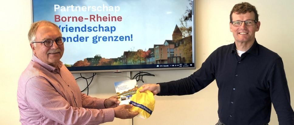 Nieuwe voorzitter Borne-Rheine