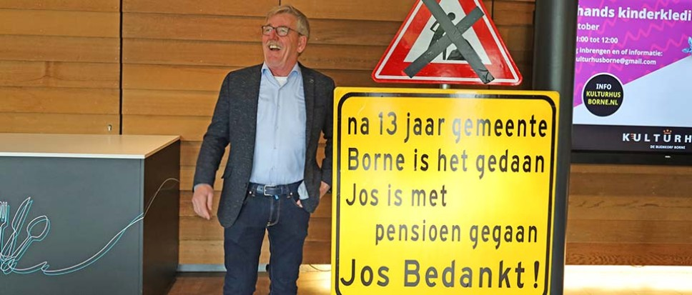 Projectleider Jos Immerman zwaait af