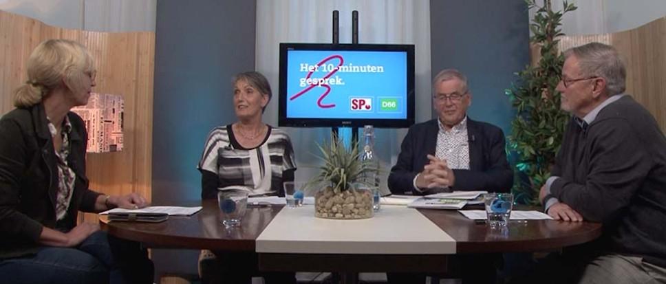 10-minuten gesprekken met SP en D66