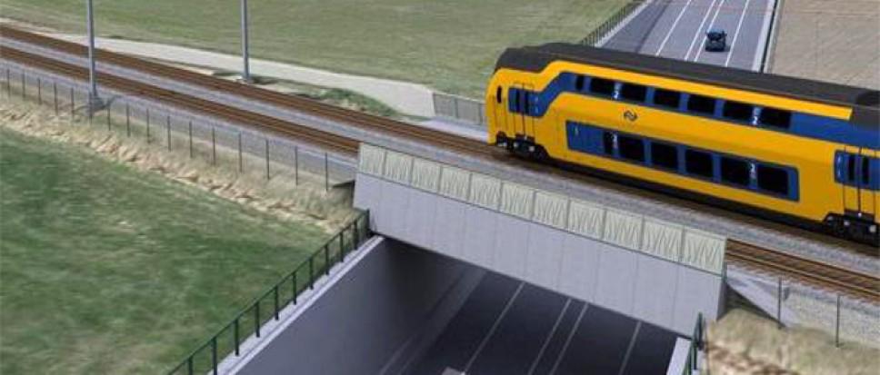 Raad wil verbindingsweg mét tunnel