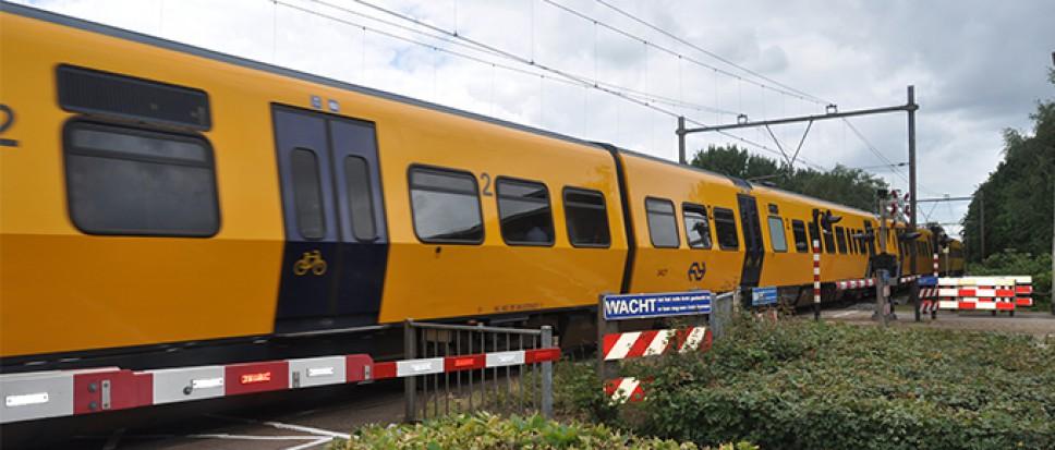 Storing op het spoor