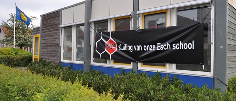 College volgt Scholenplan, Esch-locatie sluiten