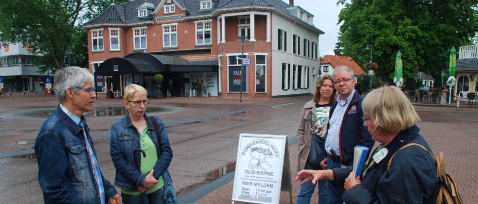 Zomerrondleidingen in Oud Borne