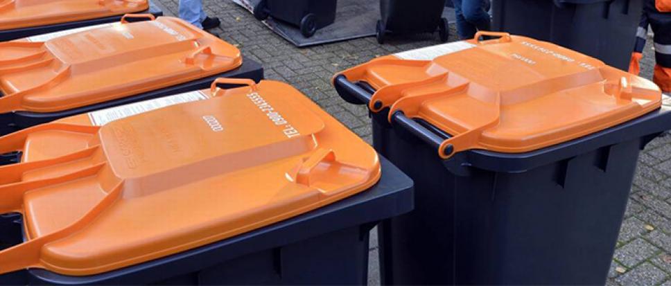 Oranje container werkt beter dan verwacht