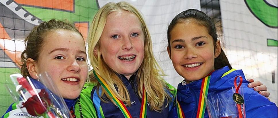 Fabienne Diniz: Twee keer brons en zilver