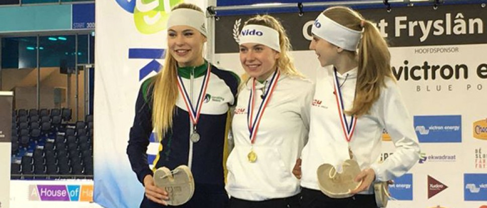 Joy Beune: vijf medailles bij NK