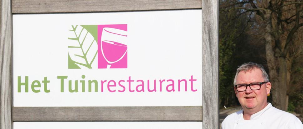 Tuinrestaurant gooit het roer om