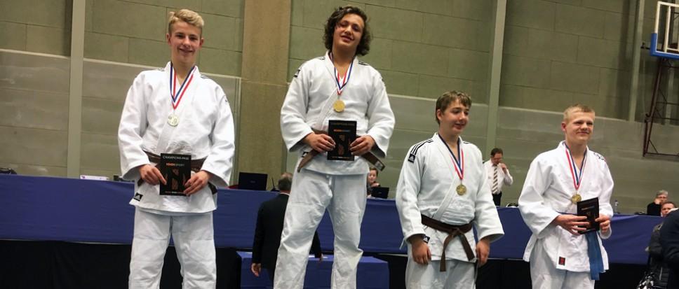 Zilver Jochem van Dijk op NK judo