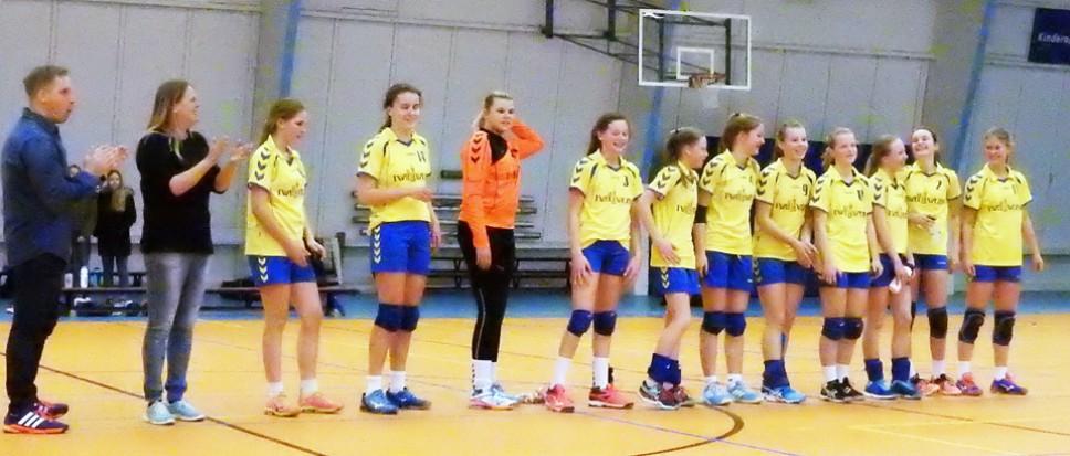 Meisjes Borhave C1 kampioen