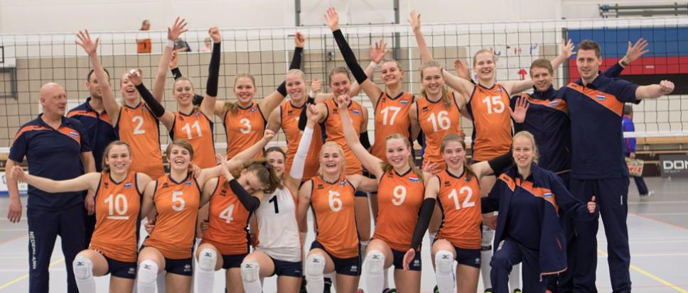 Jeugd Oranje royaal langs Rusland