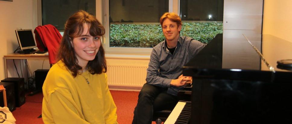 Jong talent op Bornse Muziekschool