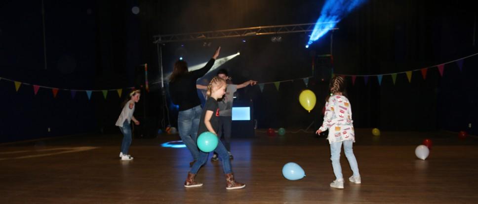 Kinderen krijgen de ruimte in de disco
