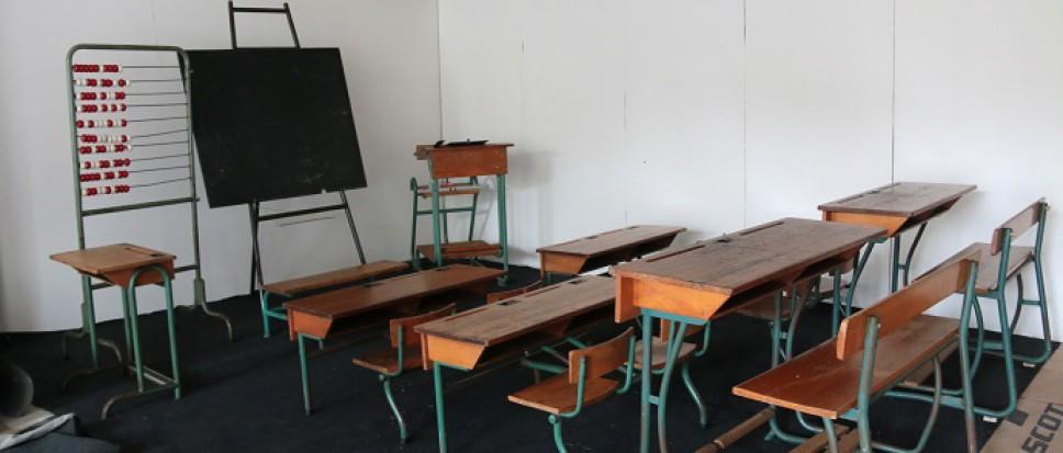 De school van toen