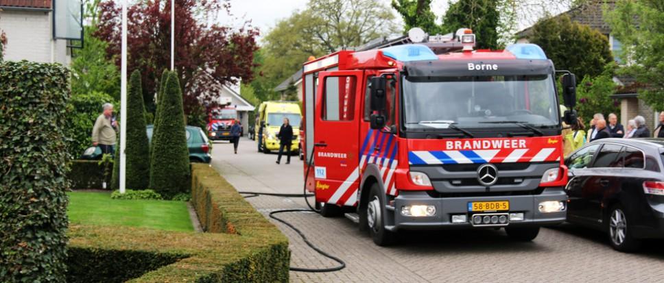 Twee gewonden bij brand aan Rogge