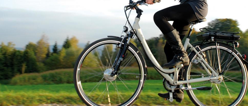 Gratis e-bike testen op de Bornse markt