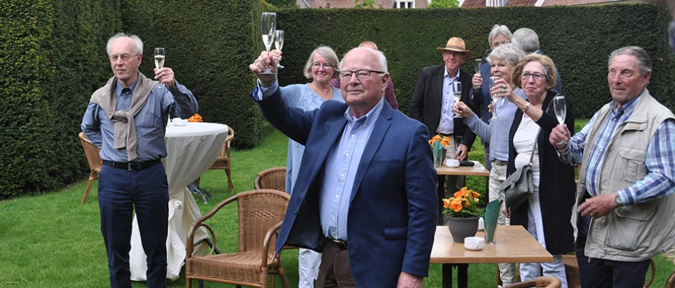 Een feestje voor de Gidsen Oud Borne