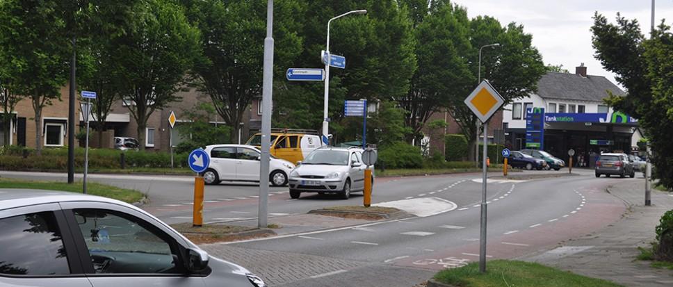 Werkzaamheden kruising Grotestraat/Europastraat