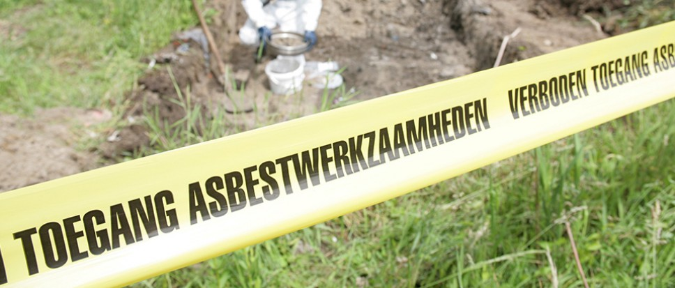 Aanpak rest asbest in bodem