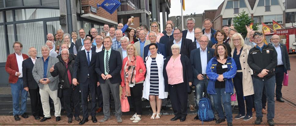 Raad van Rheine op bezoek