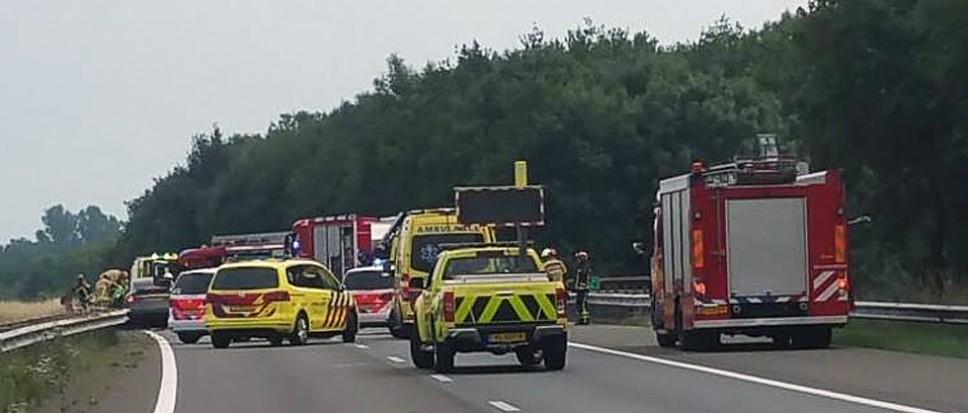 A35 richting Enschede uren dicht