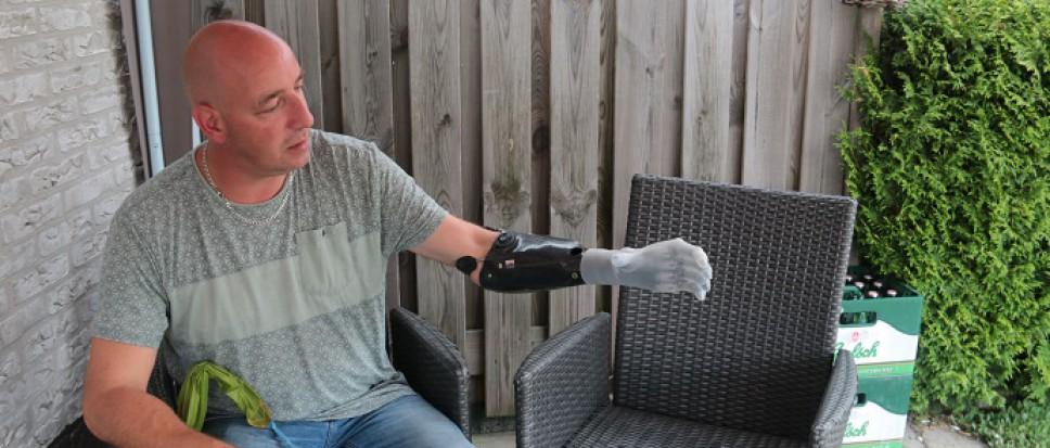 Leven met een robothand…
