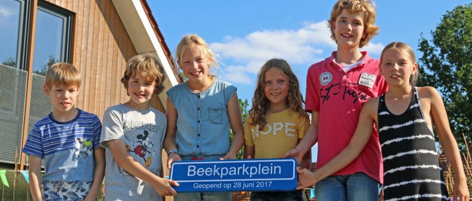 Nieuw schoolplein voor Beekpark