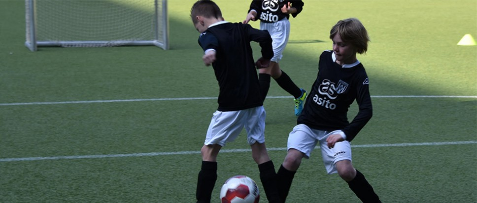 Heracles Soccer Camp bij NEO