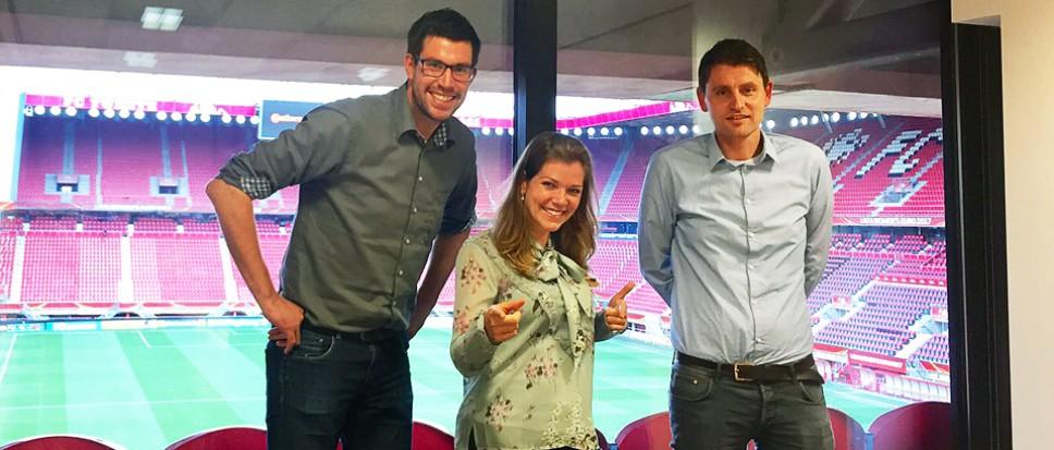 Borns aandeel in nieuwe website FC Twente