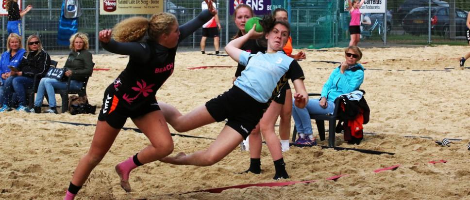 Borhave C1 wint eigen beachtoernooi
