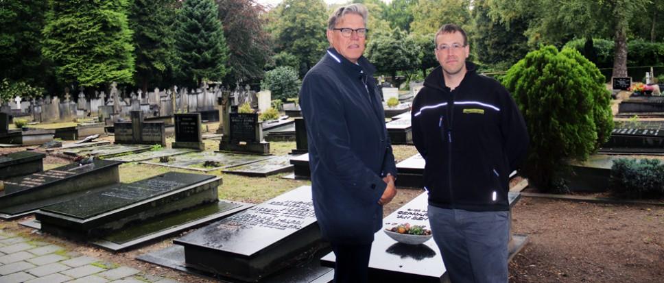 Digitale kaart met 7500 graven