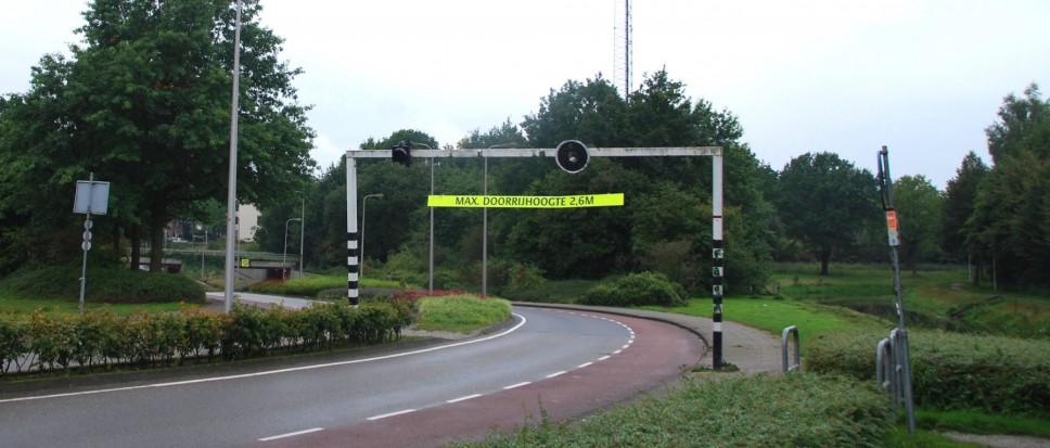 Nieuwe signaleringsportalen tunnelbak