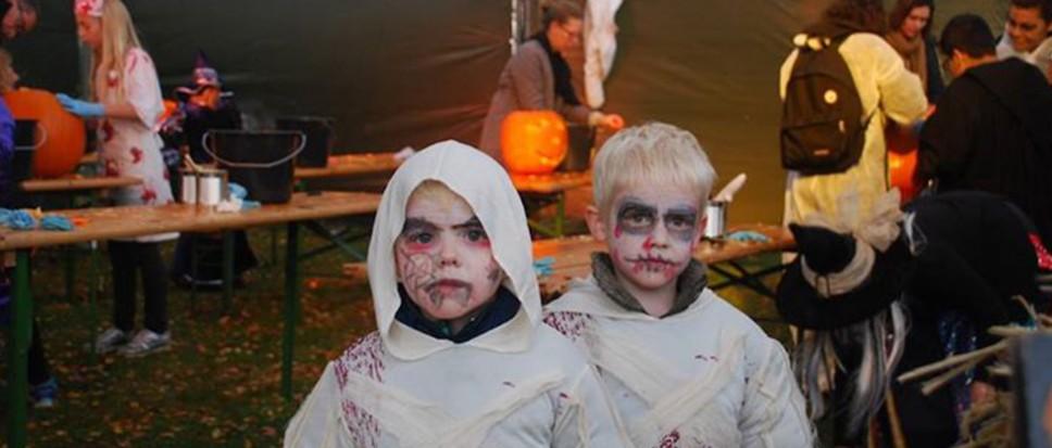 Geen Halloween in Hertme, wel in Borne