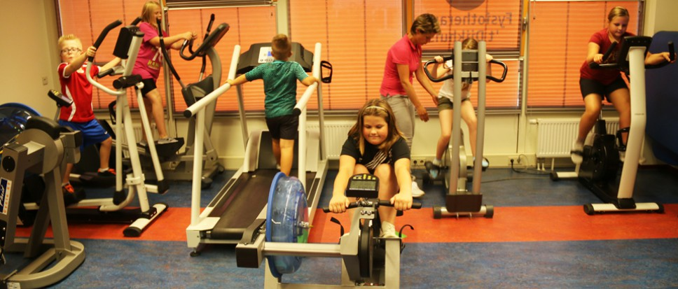 Fitness voor bijzondere kinderen