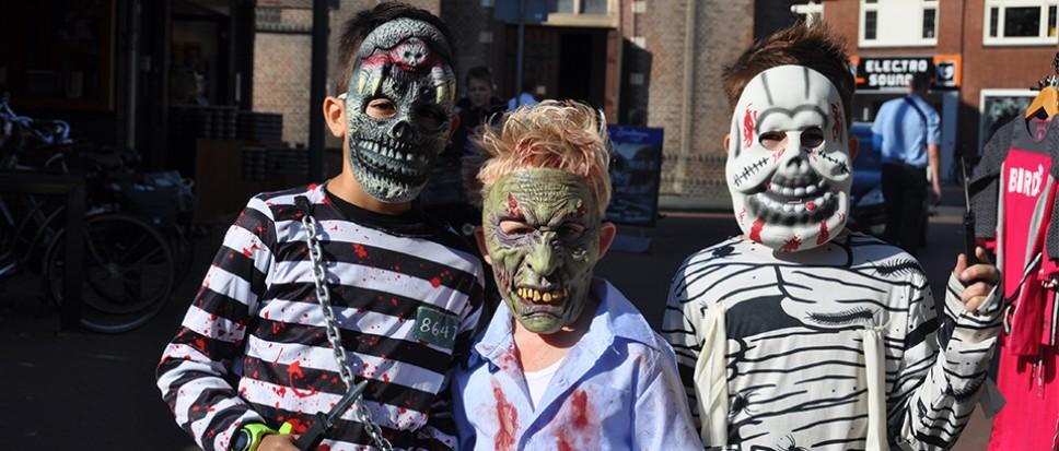 Een zomers Halloweenfeestje