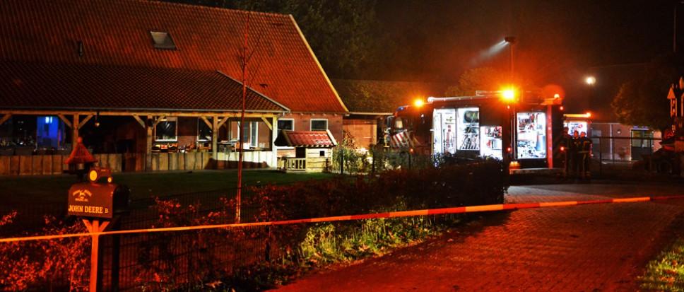 Brand in woonboerderij Saasveld