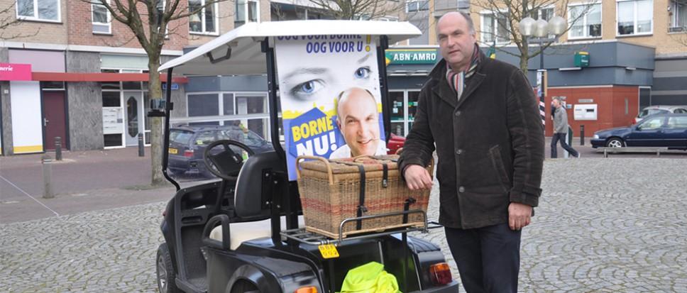 Martin Velten opnieuw lijsttrekker Borne-Nu
